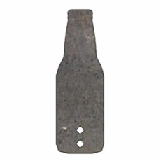 AR500 BOTTLE TARGET 3/8 THICK